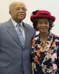 Trustee McKinley and Mrs. Marjorie Seaphus